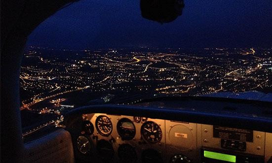 Brussels Aviation School - Night FlightRE